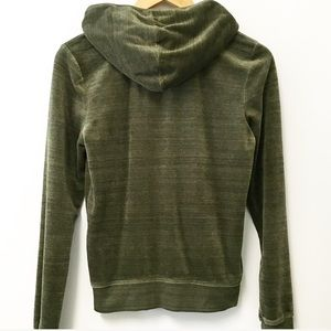 Juicy Couture Olive Heather green track jacket L